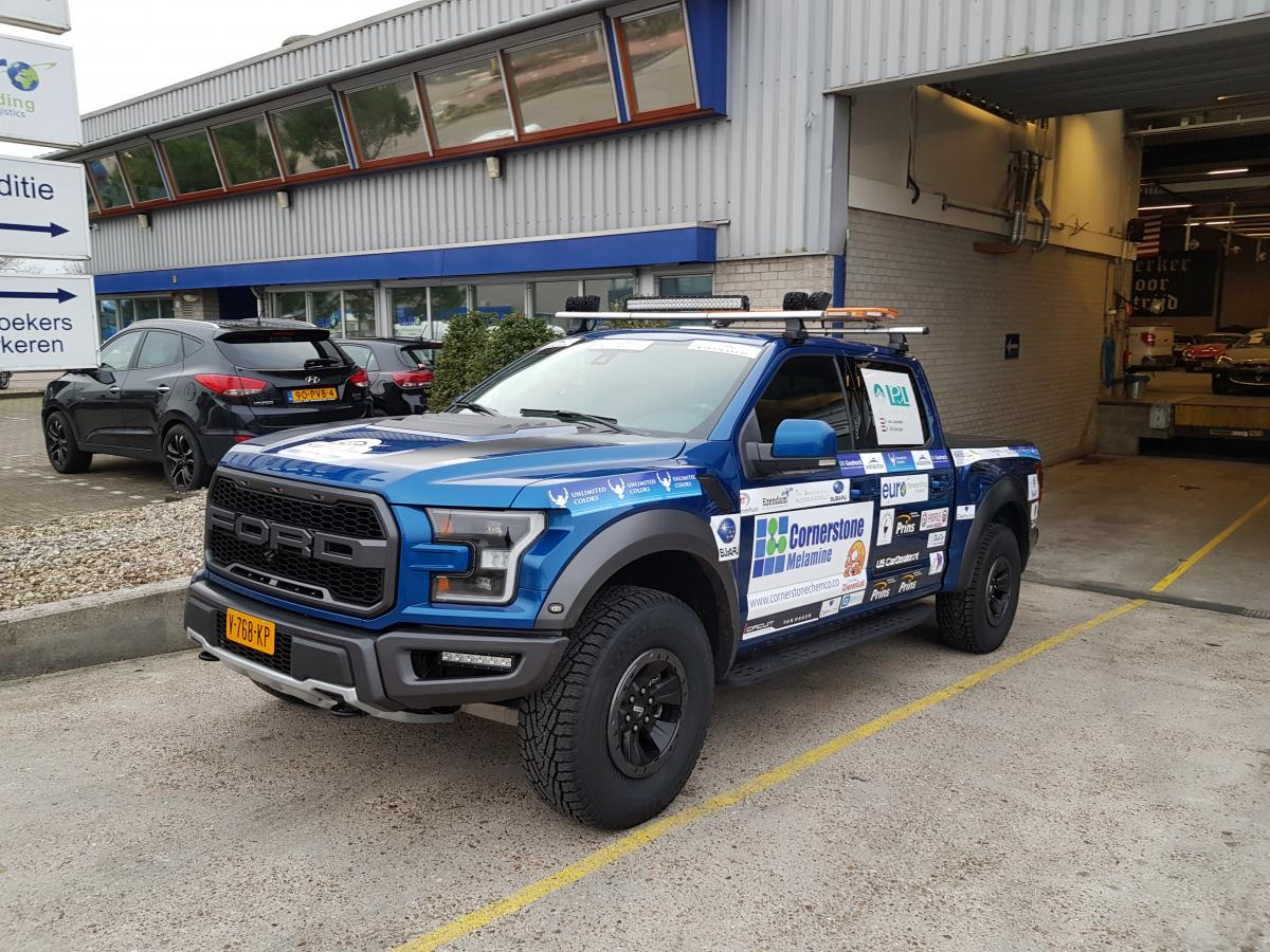 2018 Ford Raptor, LPG, autogas, in leveringsprogramma