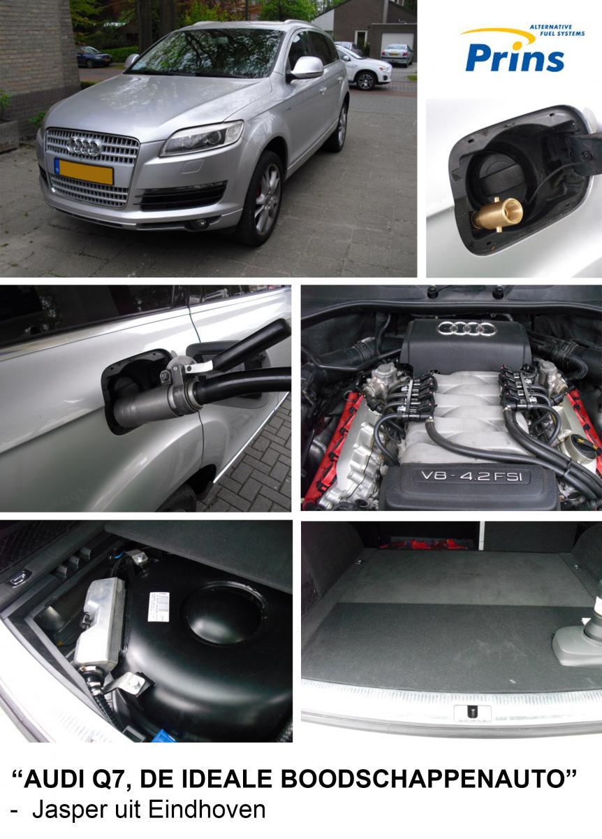 Ervaring Audi Q7 op LPG