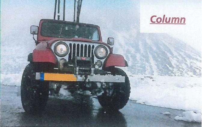 Jeep op LPG Autogas